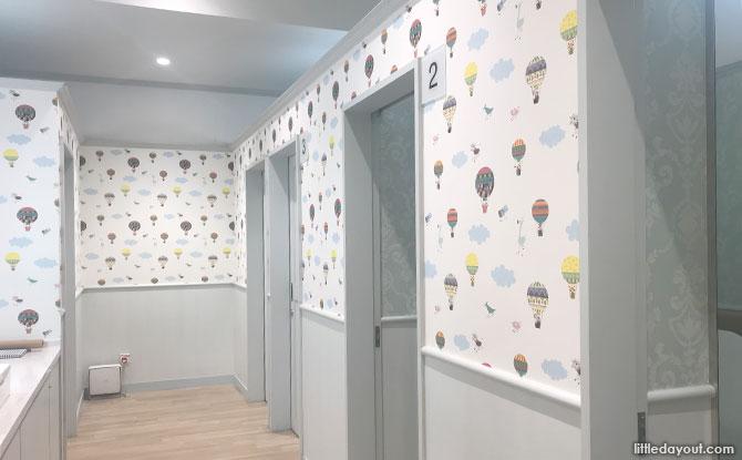 Takashimaya Breastfeeding Rooms