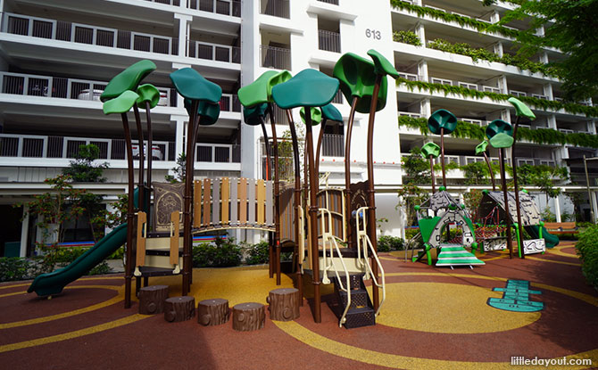 Tampines Greenview Playground Overview