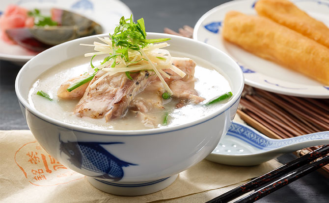 Mui Kee - Fish Belly Congee