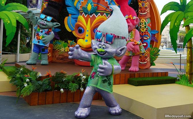 Guy Diamond from DreamWorks Animation's Trolls.
