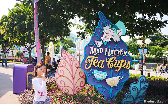 Fantasyland, Hong Kong Disneyland