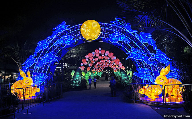 Mid-Autumn Festival at Gardens by the Bay, 2018