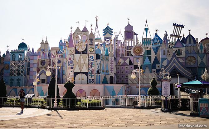 It's a Small World, Hong Kong Disneyland