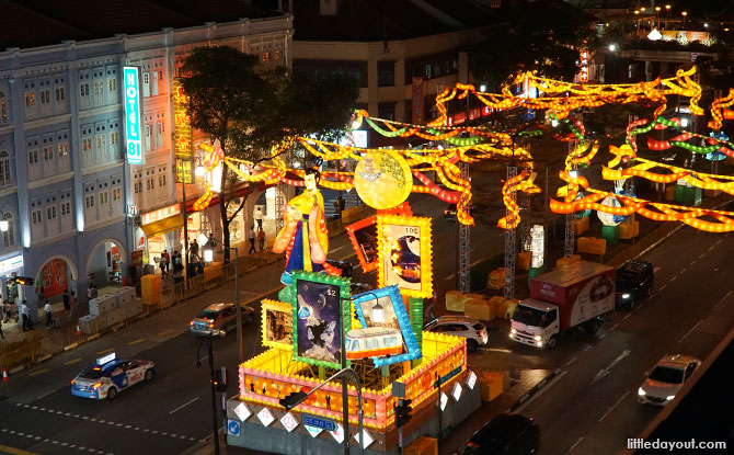 Mid-Autumn Festival Light-up in Chinatown