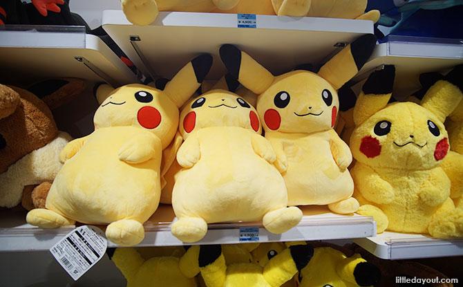 Pikachu plush toys