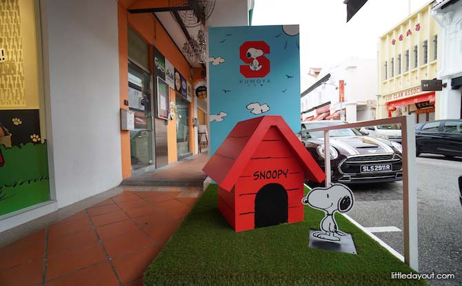 Snoopy and Snoopy's House
