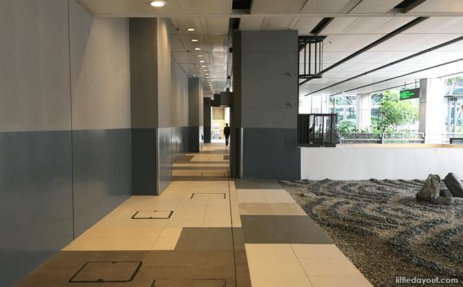 Passageway to T1 Staff Canteen