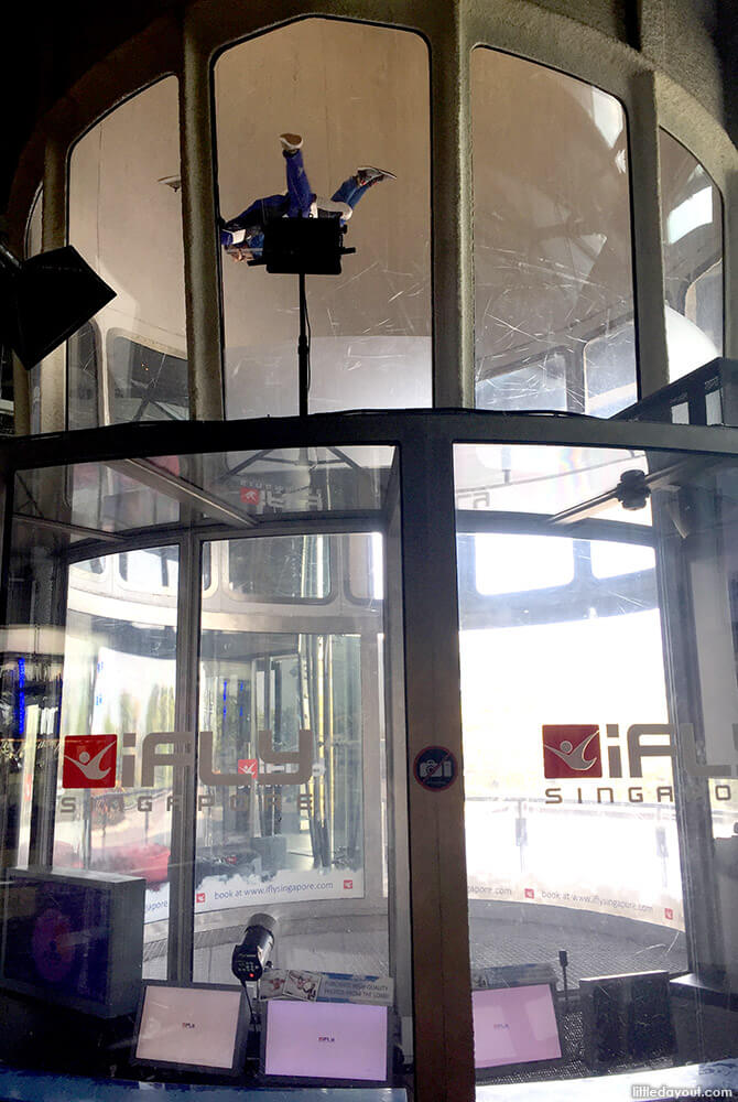 Tall Wind Tunnel at iFly Singapore