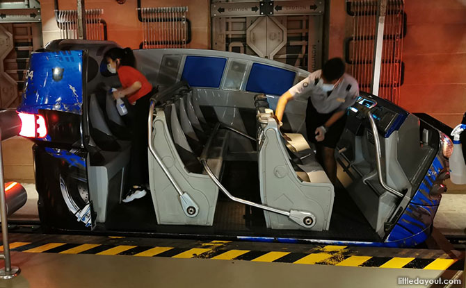 Safe Management Measures at Universal Studios Singapore