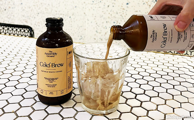 White Cold Brew Coffee and the Oat Cold Brew Coffee