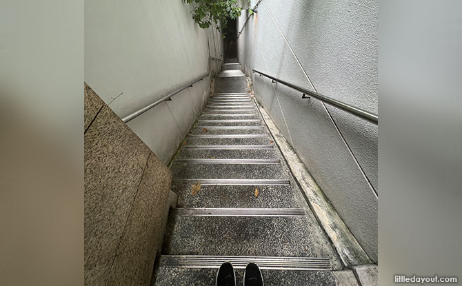 The Hidden Staircase At The Cathay: Shortcut To Sophia Hill