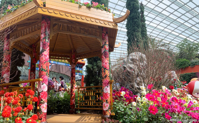 Peach Blossom Spring pavilion