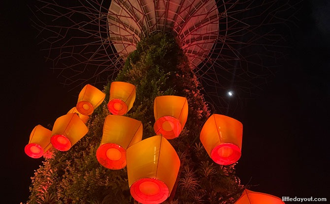 Sky Lanterns at Gardens by the Bay 2021