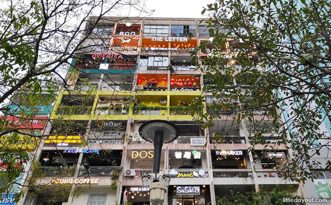 The Café Apartment building in Ho Chi Minh