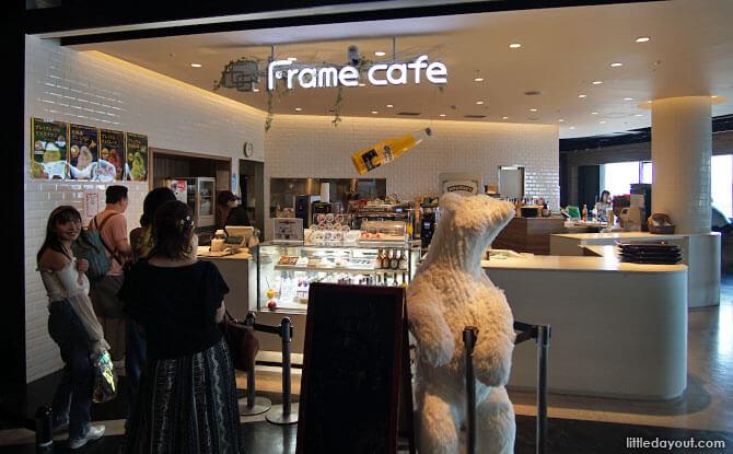 Frame Cafe, Tokyo Joypolis at Odaiba