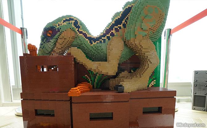 Jurassic World Café Singapore Lego Dinosaur