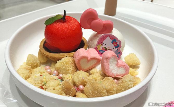 Hello Kitty Desserts and Drinks at Kumoya Orchard