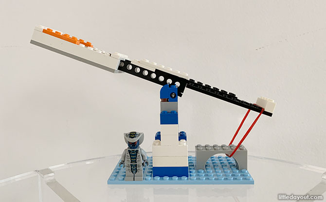 Building a LEGO Catapult that Works