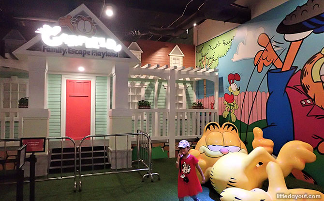 Garfield Family Escape Playground