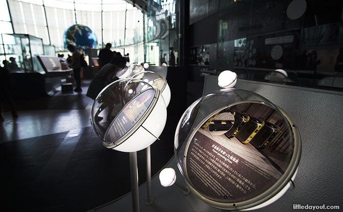 Exhibits at Miraikan, Japan