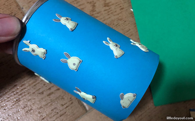 Decorate the snack canister