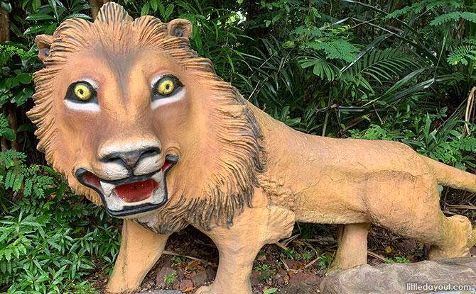 Lion at Mount Imbiah, Sentosa