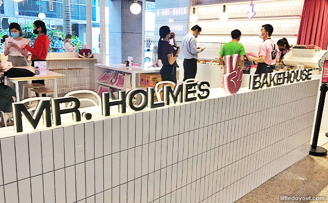 Mr Holmes Bakehouse at Pacific Plaza