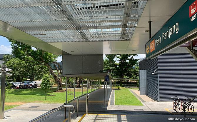 Getting to Pasir Panjang Park from the Pasir Panjang MRT Station