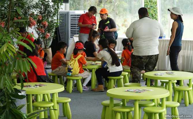 Kids Activity area, SGF Horticulture Show 2019