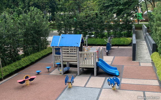 Playground at SkyTerrace at Dawson
