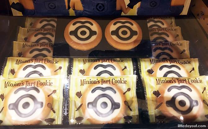 Minion Tart Cookies, Universal Studios Japan, Osaka