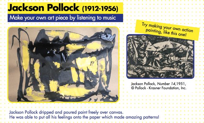 Tate Kids Jackson Pollock