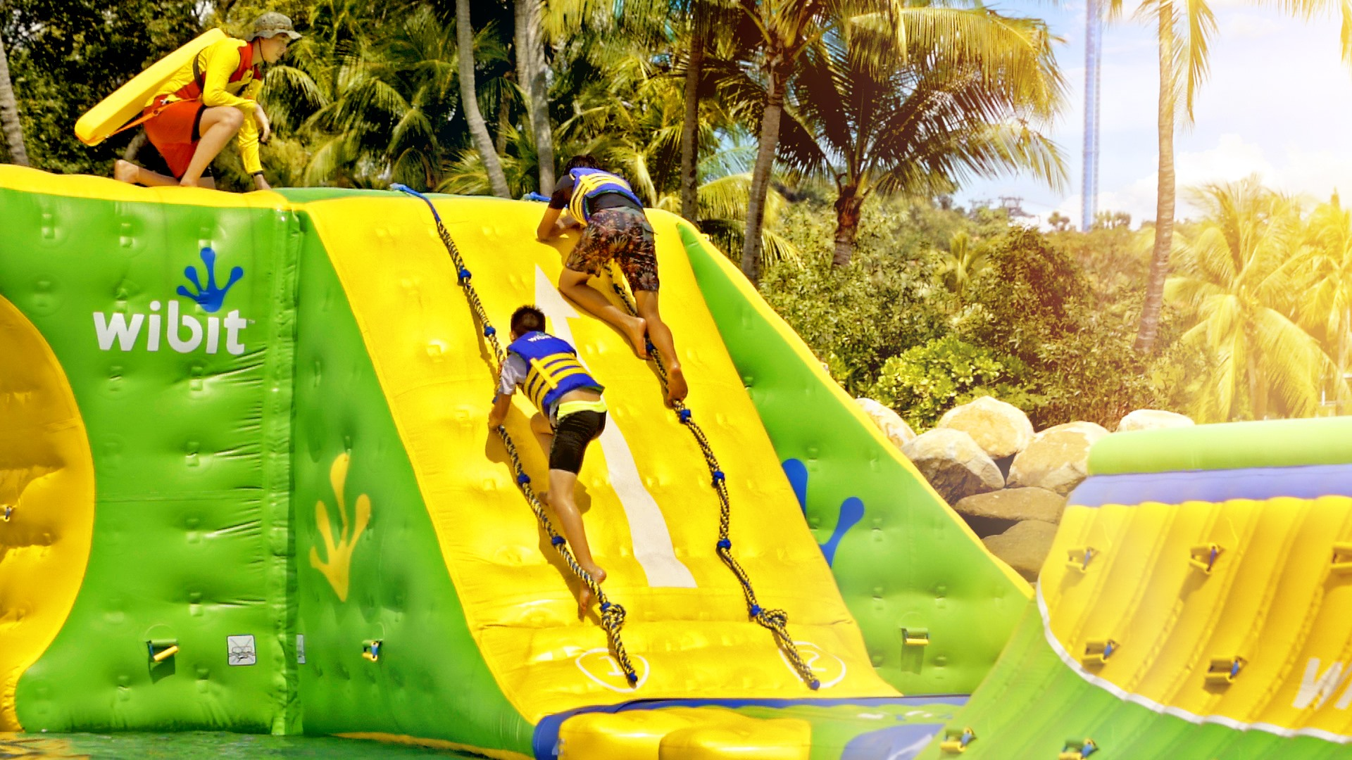 HydroDash - Sentosa Inflatable Obstacle Course