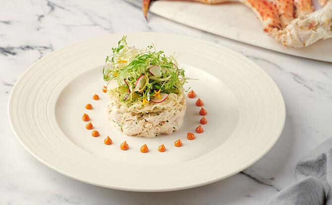 Photo Credit: St. Regis Singapore - Salade de Crabe