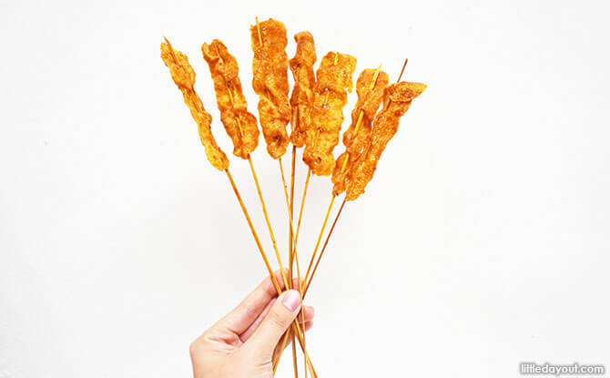 Satay Fish Sticks - Nostalgic Satay Snacks
