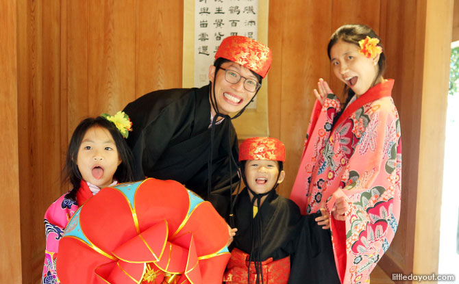 Okinawa With Kids: Costumes