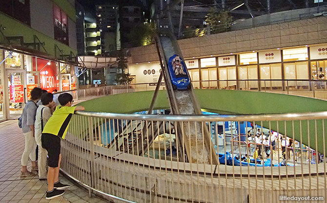 Wonder Drop, Tokyo Dome City Attractions' water flume ride