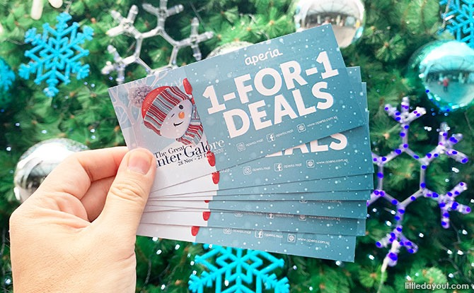 1,000 1-for-1 Deal F&B Vouchers Giveaway EVERY Weekend!