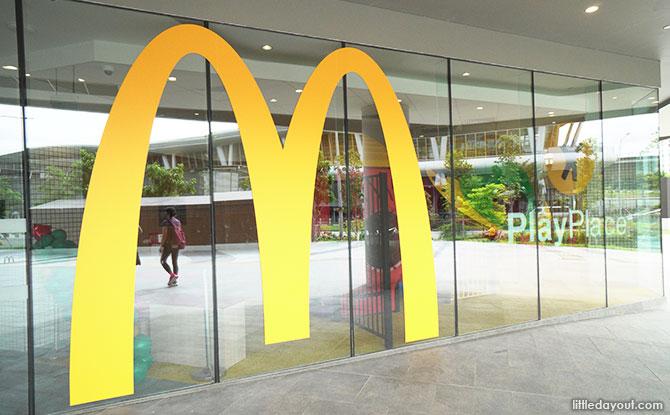 Canberra Plaza Food McDonalds