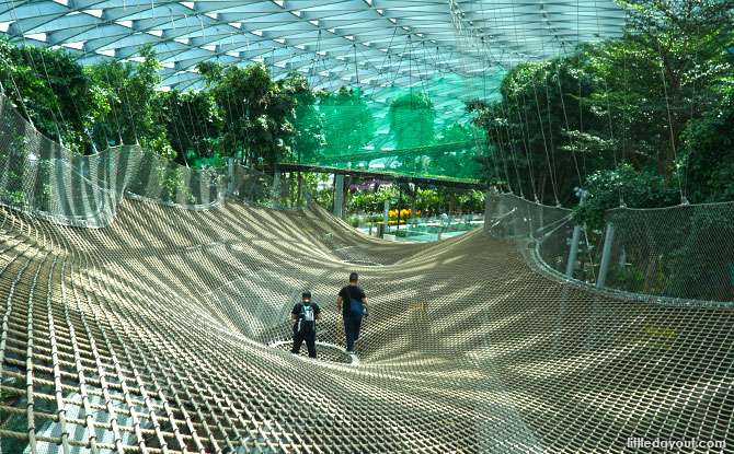 Manulife Sky Nets – Walking