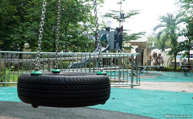 Playground at Fu Shan Garden