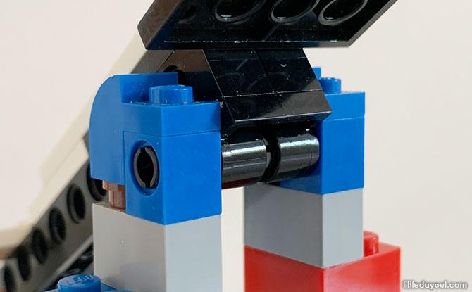 Assembling the catapult