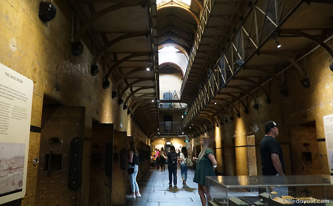 Inside the Old Melbourne Gaol