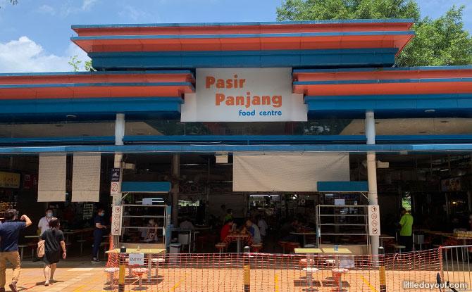 Getting to Pasir Panjang Park