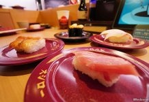 Sushiro, Japan's No. 1 Conveyor-Belt Sushi Chain, Is Now In Singapore And Serving Delicious Bites Including Roast Beef Sushi!