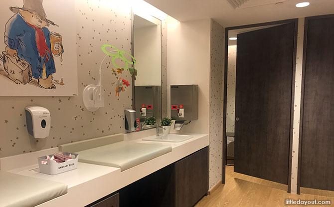 TANGS Orchard Nursing Room - Best Nursing Rooms In Singapore