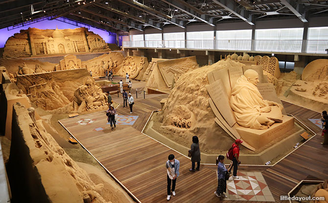 Tottori Sand Museum is an interesting one-of-its-kind museum