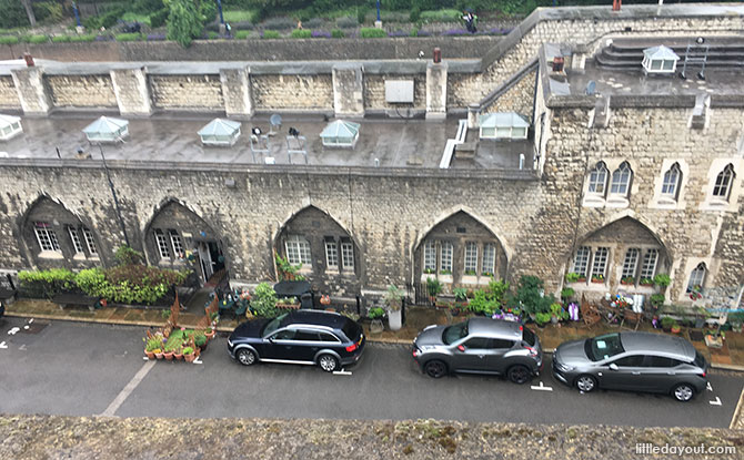 Looking at where the Tower of London community lives.