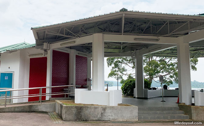 Shelter at Upper Seletar Reservoir