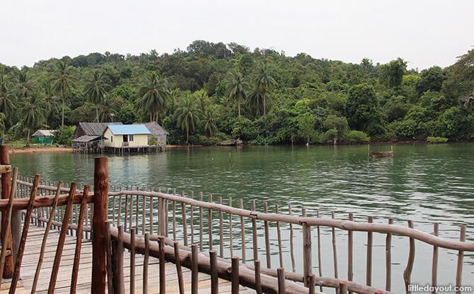 Pulau Jemera from Blue Mountain Kelong